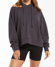 Load image into Gallery viewer, Jerri Terry Hoodie Sweatshirt - WSHD BLK
