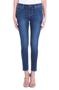 Piper Hugger Ankle Skinny 4-Way Stretch Contour