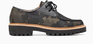 Lug Sole Oxford - CAMO