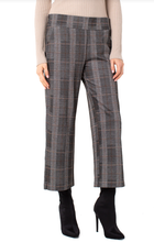 Load image into Gallery viewer, Mabel Pull On Wide Leg Pant - BLACK/GREY MULT