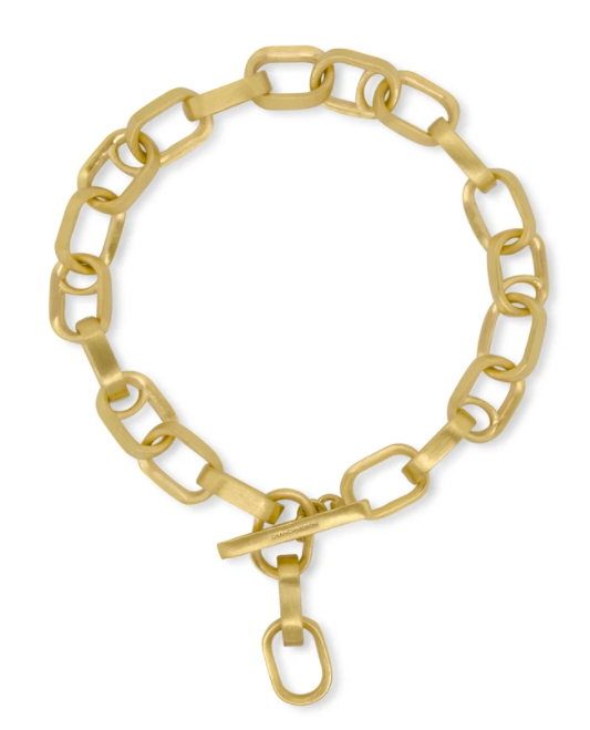 Manhattan Chain Link Bracelet - GOLD