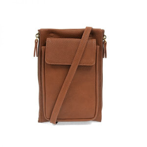 Mary Multi Pocket Crossbody - MAPLE