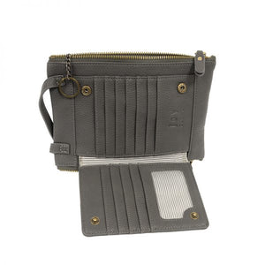 Mary Multi Pocket Crossbody - SLATE