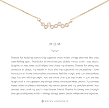 Load image into Gallery viewer, Mom Necklace - GOLD/CRY