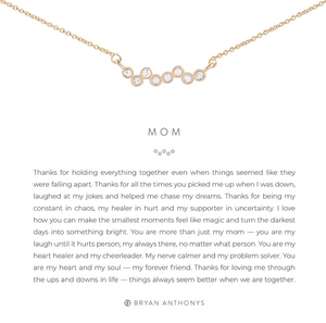 Mom Necklace - GOLD/CRY