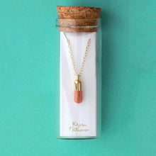 Load image into Gallery viewer, Chill Pill Charm Necklace
