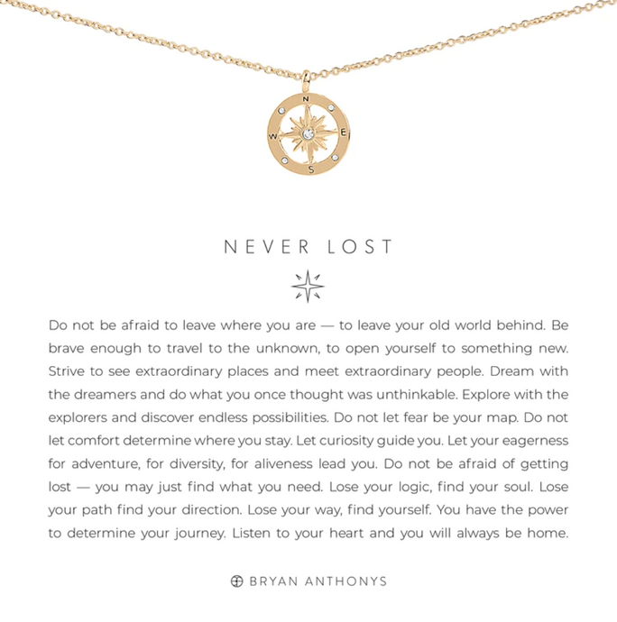 Never Lost Necklace - GOLD
