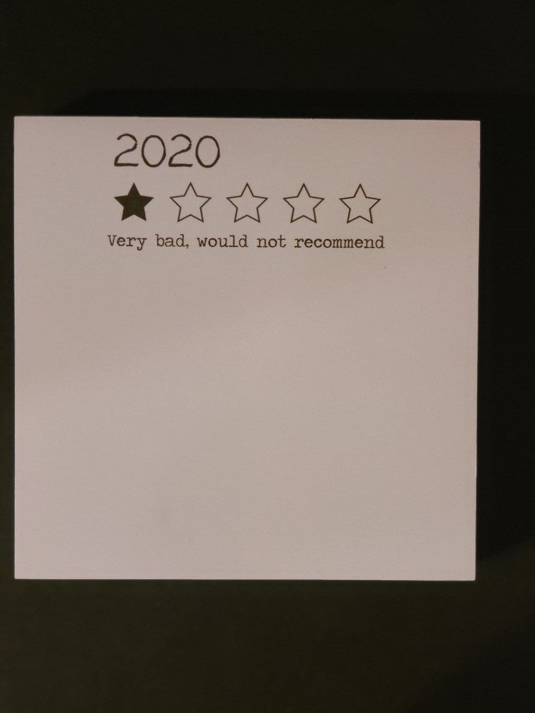 Notepad (5.5x5.5 in) - 2020