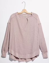 Load image into Gallery viewer, Owen Thermal Slouchy Top - LAV MAUV