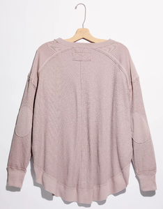 Owen Thermal Slouchy Top - LAV MAUV