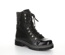 Load image into Gallery viewer, Patent Toe Leather Waterproof Boot - BLACK