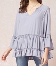 Load image into Gallery viewer, Peasant Top - LAVENDER