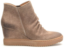 Load image into Gallery viewer, Rouched Detail Waterproof Wedge Bootie - TPE SDE