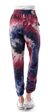 Load image into Gallery viewer, Ruched Hem Joggers - WINE