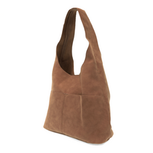 Load image into Gallery viewer, Jenny Faux Suede Hobo Handbag