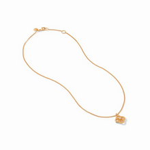 Load image into Gallery viewer, Chloe Delicate Gold Pearl Necklace