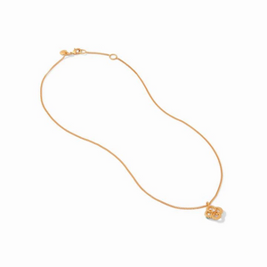 Chloe Delicate Gold Pearl Necklace