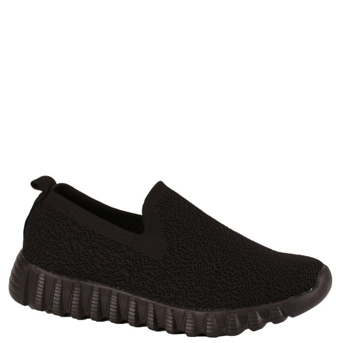 Stretch Slip On - BLACK