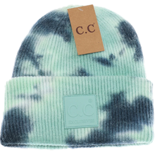 Load image into Gallery viewer, Tie Dye Hat - TEAL/SEA