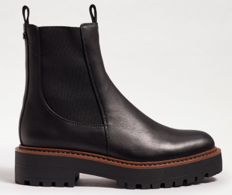 Waterproof Chelsea Boot - BLACK
