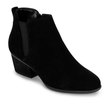 Load image into Gallery viewer, Waterproof Suede Bootie - BLK SDE