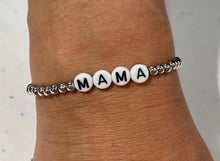 Load image into Gallery viewer, Word Stretch Bracelets - MAMA
