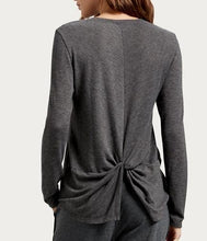 Load image into Gallery viewer, Jayda Back Twist Tee