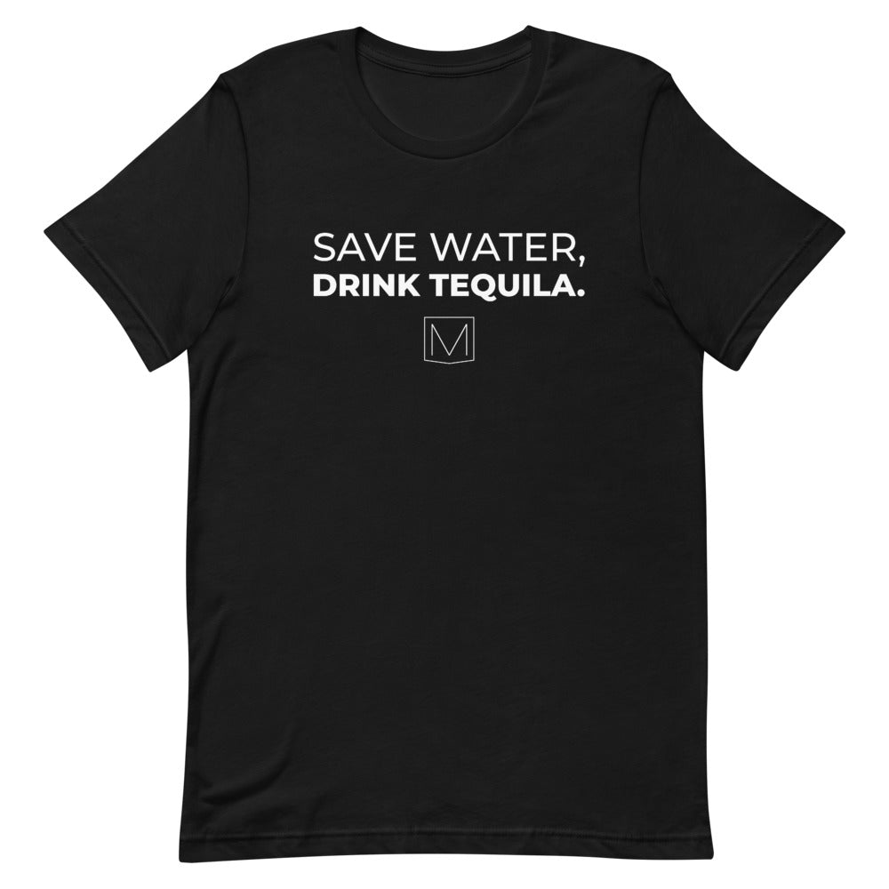 SAVE WATER, DRINK TEQUILA - Premium Tee