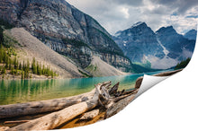 Load image into Gallery viewer, Moraine Lake beautiful photo printed on Metallic paper