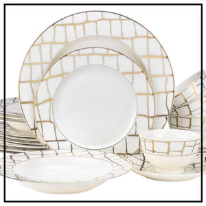Dinnerware for 12 under $500