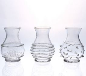 MINI VASES SET OF THREE