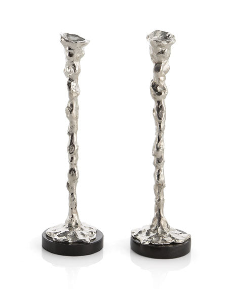 Lava Candlestick Holders