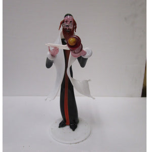 Gianni Toso Glass Figurine Rabbi Reading Megillah
