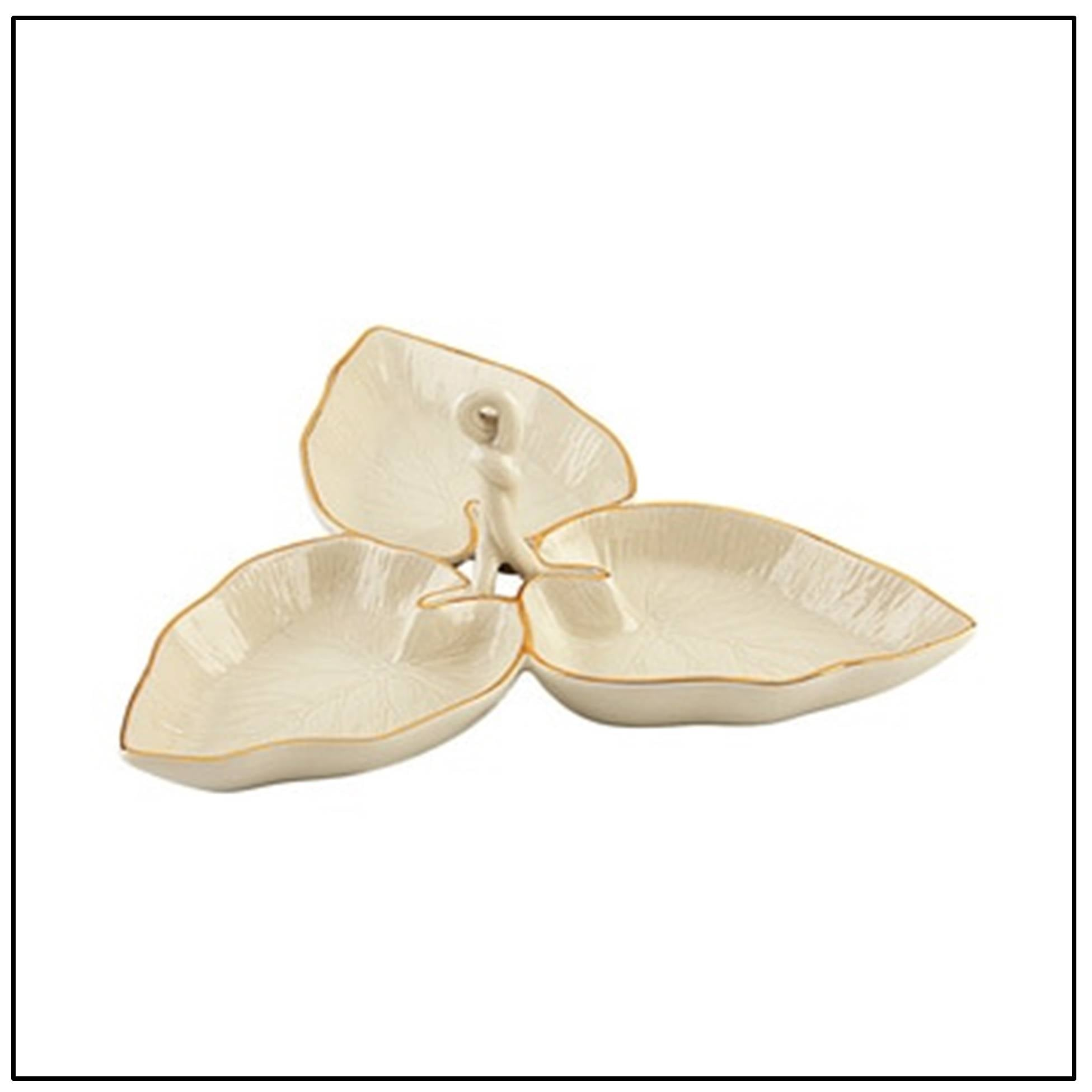 Eternal Leaf Sectional Dish