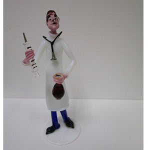 Gianni Toso Glass Figurine Doctor