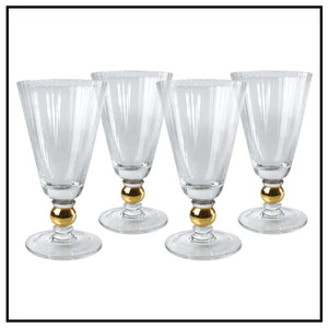ARTLAND JEWEL GOBLETS SET/12