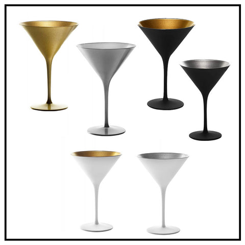 Elements Cocktail Glasses set/4