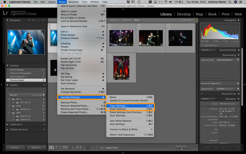 Lightroom Batch Editting