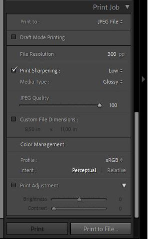 How To Save Lightroom Template