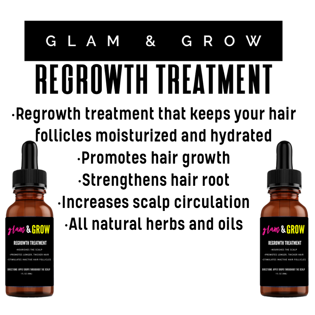 Glam & Grow Regrowth Treatment - Glambella Shop