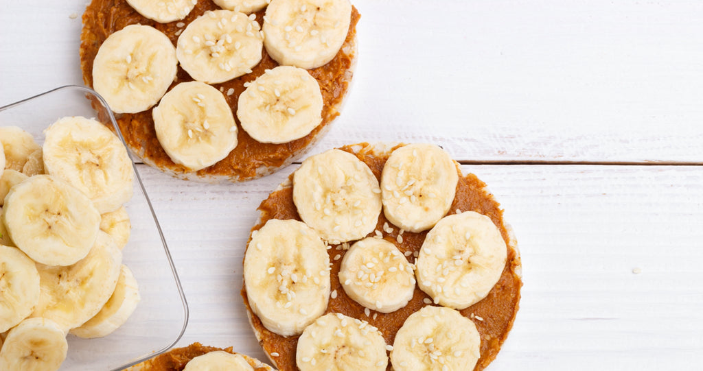 Peanut Butter Rice Cakes