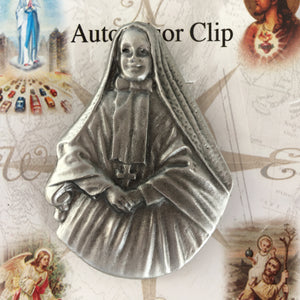 Mother Cabrini Auto Clip