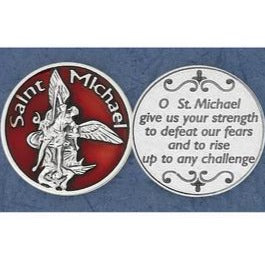 Enameled Michael Pocket Token