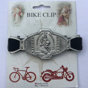 St. Christopher Bike Clip