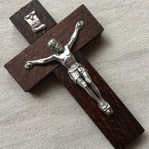 Wooden Wall Crucifix- 3 Sizes