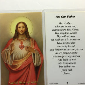 Jesus Holy Cards