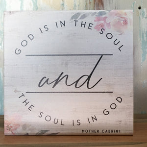 God is in the Soul