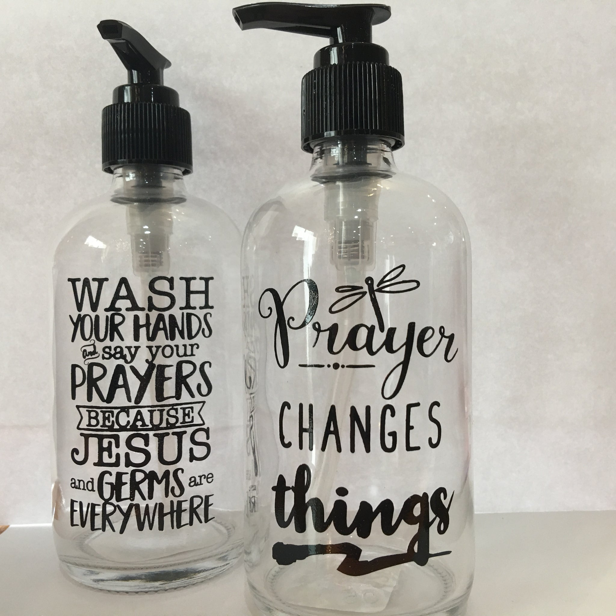 Small Inspirational Soap Dispensers