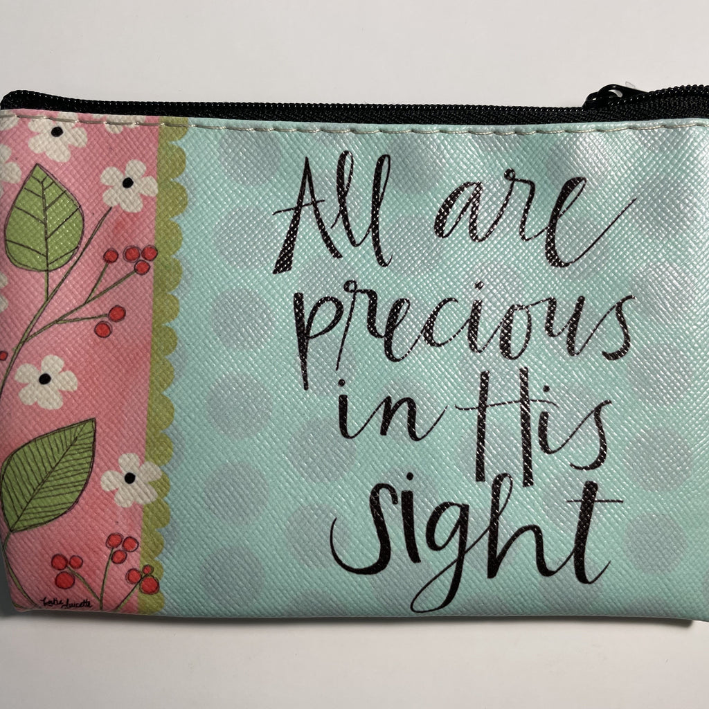 ALL ARE PRECIOUS IN HIS SIGHT COIN PURSE