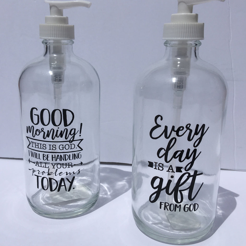 Inspirational Soap Dispensers